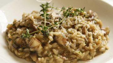Perfect mushroom risotto recipe