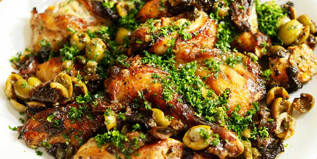 Authentic Chicken Marbella Recipe Easy Meals With Video Recipes By Chef Joel Mielle Recipe30
