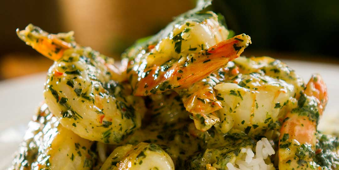 Garlic Prawns In A Cream Sauce Easy Meals With Video