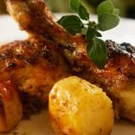 Greek Chicken with Lemon, Garlic and Potatoes