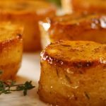 Wow! Potato fondant - Melt in your mouth buttery chicken potatoes