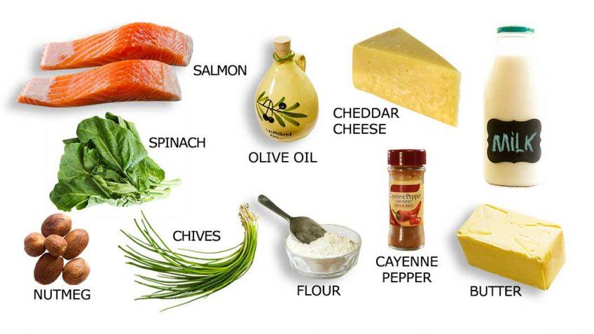 Salmon Mornay Ingredients