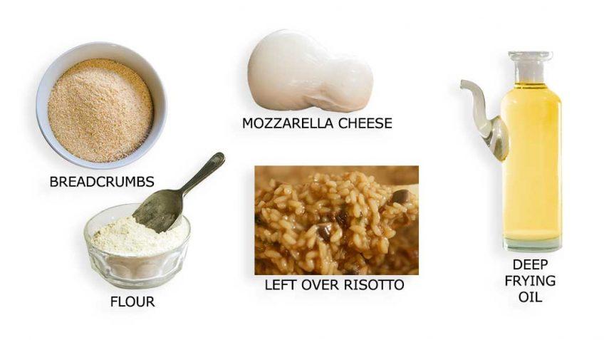 Arancini ingredients