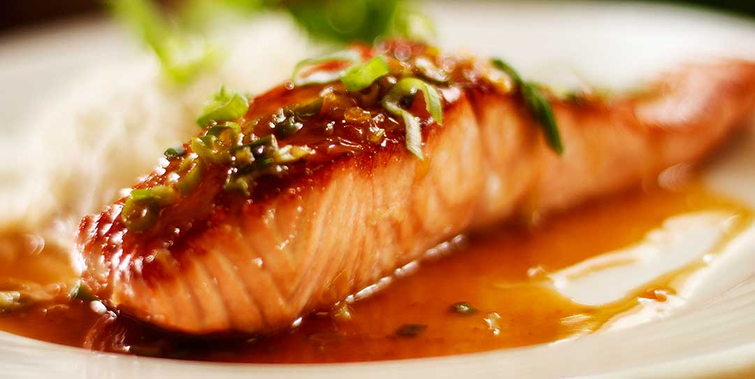 Pan Seared Glazed Salmon With Honey And Soy Easy Meals