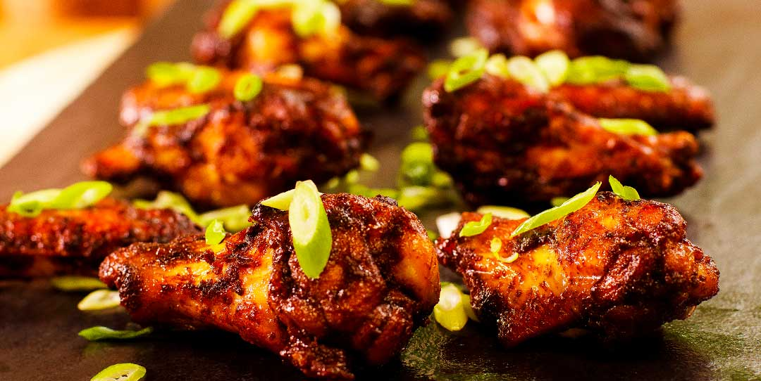 Hot And Spicy Garlic Chicken Wings Easy Meals With Video Recipes By Chef Joel Mielle Recipe30