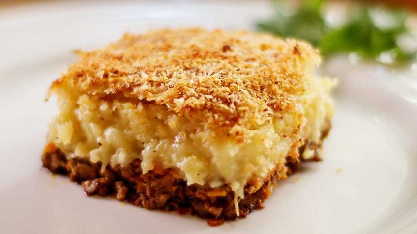 Hachis Parmentier, a French cottage pie
