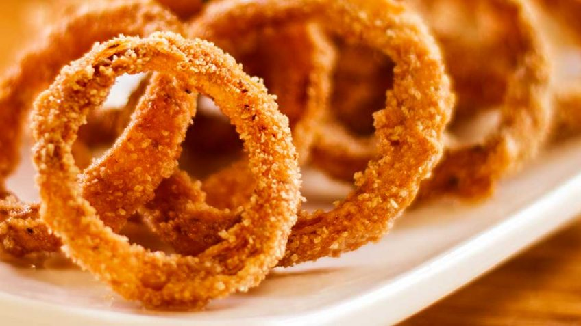 Fried Onion Rings with Epic Crunch