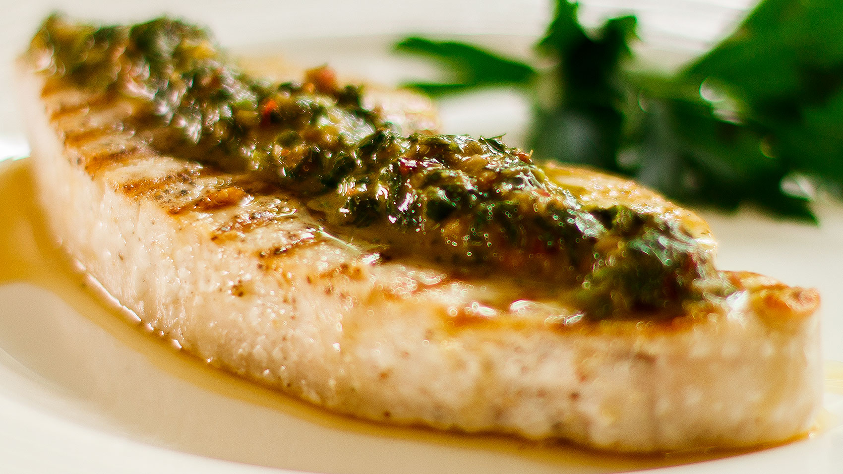 Swordfish Grilled With Chimichurri Sauce Easy Meals With Video Recipes By Chef Joel Mielle
