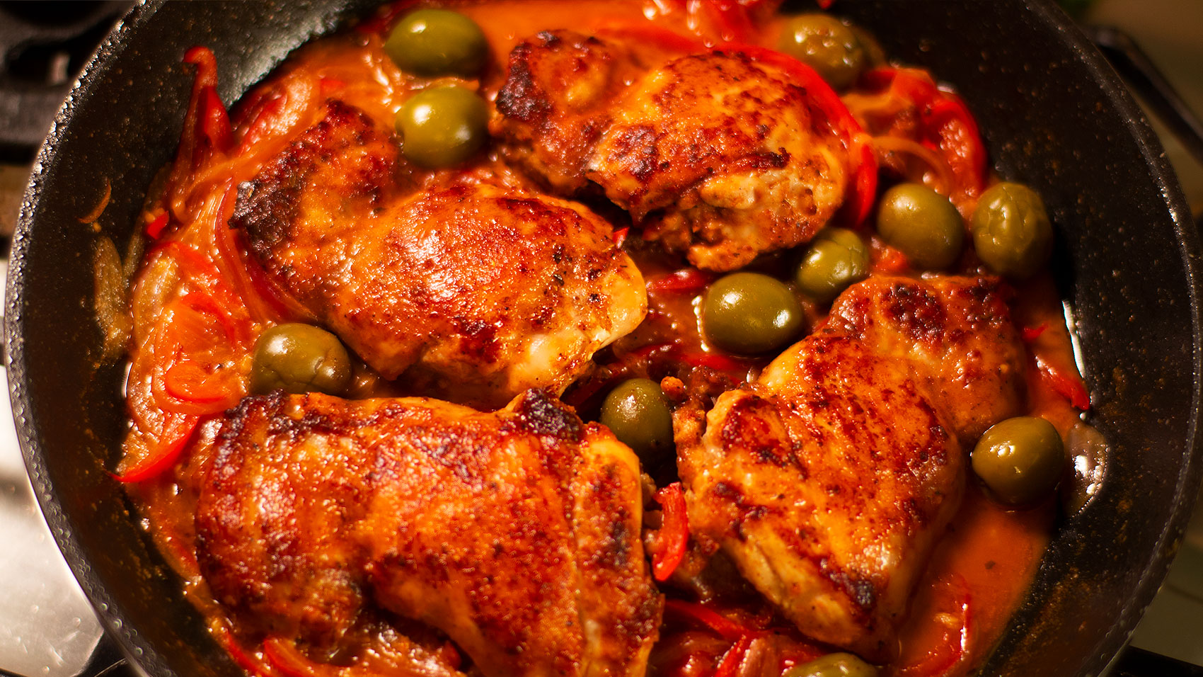 Spanish Style Chicken Easy Meals With Video Recipes By Chef Joel Mielle Recipe30