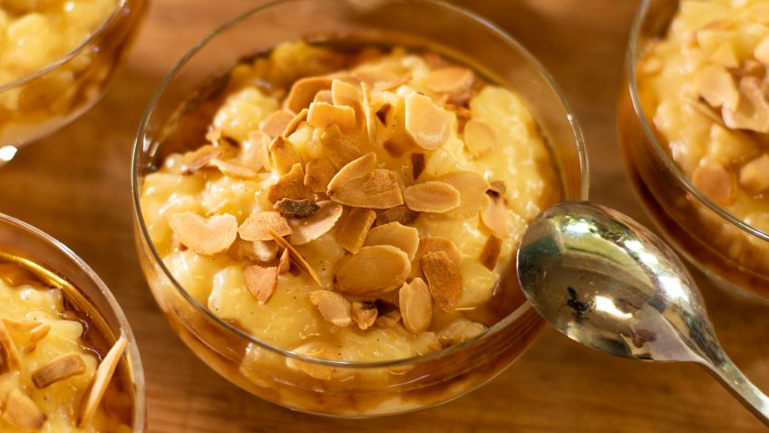 Easy Vanilla Rice pudding
