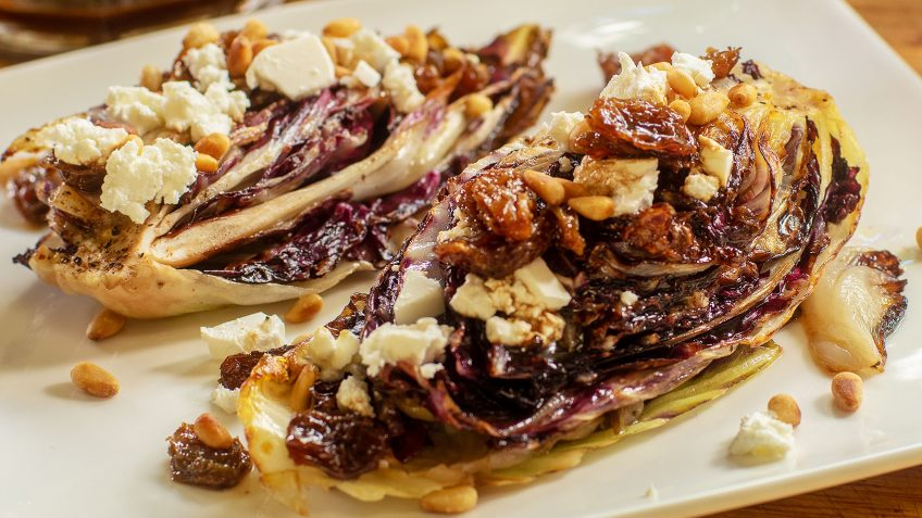 Seared Radicchio