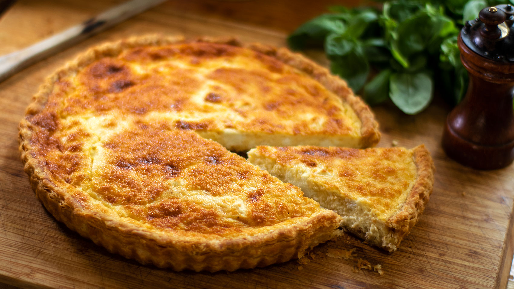 Rustic Goat Cheese Quiche Easy Meals With Video Recipes