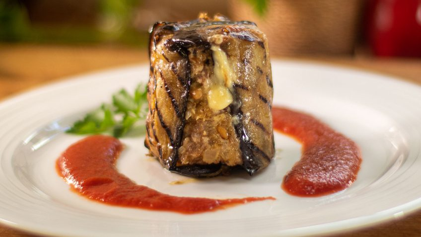 eggplant timbales