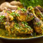 Spicy Saffron chicken