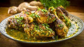 Spicy Saffron chicken