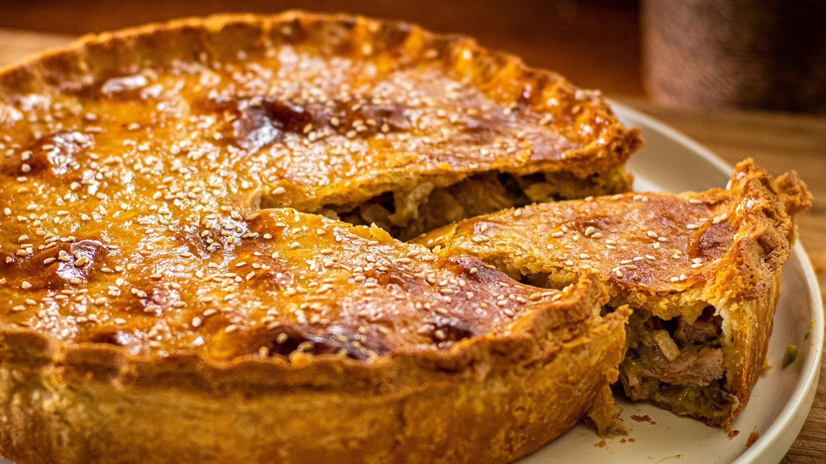 Amazing Turkey Pie
