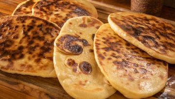 Soft Buttery Naan bread