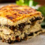 Chicken Mushroom Lasagna