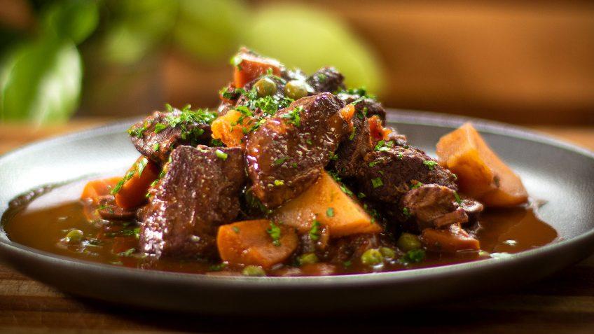 Rich lamb stew