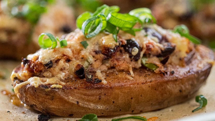 Mediterranean Baked Potatoes